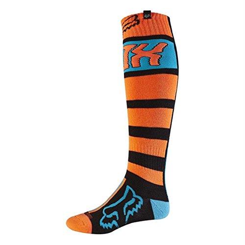 Fox 2017 Herren Motocross / MTB Socken - FRI FALCON THICK - schwarz-orange: Größe Socken: L