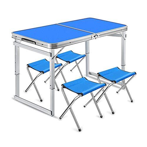 Tische Klapptische Camping Picknicktische Leicht tragbar Höhenverstellbar Mehrzweck Abendessen Utility-Tabelle BBQ Draussen CJC (Farbe : T5) - Utility-tabelle