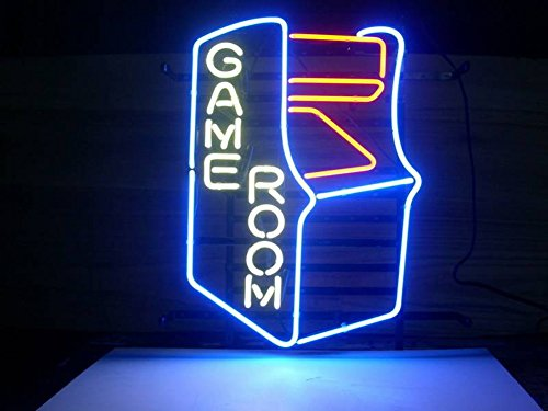 """LiQi Personalized Custom Design Beer Neon Sign 30"""" w x 18"""" h, Handmade Glass Tube Neon Light Sign for Home Bar Pub Game Room and Recreation Decor Gifts (30""""×18"""" Large)"""