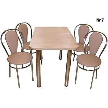 all4all Design Esstisch Küchentisch Bistrotisch Sonoma Eiche mit ...