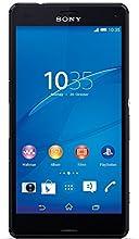Sony Xperia Z3 Compact Smartphone, Display 4,6 Pollici, HD-TRILUMINOS-Display, 2,5 GHz-Quad-Core-Processore, 20,7 MP Fotocamera, Android 4.4, Nero [Germania]