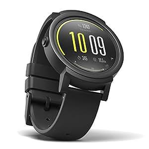 Lo Smart Watch Più Confortevole Ticwatch E Shadow, Display OLED 1,4 pollici, Android Wear 2.0, Compatibile con iOS e Android, Supporto Italiano