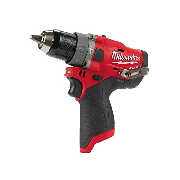 Milwaukee, 12 V Bohrschrauber M12 FPD/0 4933459801 ohne Akku ohne Ladegerät, Red & Black