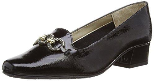 Van Dal Womens Twilight Court Shoes 2026140 Black Feature Patent 6 UK,...