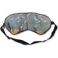 Sleep Eye Mask Emperor White Crane Lightweight Soft Blindfold Adjustable Head Strap Eyeshade Travel Eyepatch preisvergleich bei billige-tabletten.eu