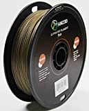 1,75 mm Bronze PLA 3D Drucker Filament - 1 kg Spule (2,2 lbs) - Maßgenauigkeit +/- 0,03 mm