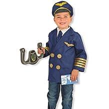 Melissa & Doug 18500 - Disfraz de piloto