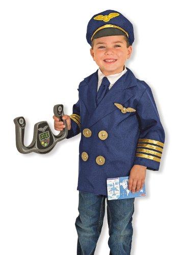 Melissa & Doug Kinderkostüm Pilot (Pilot Kostüm Für Kinder)