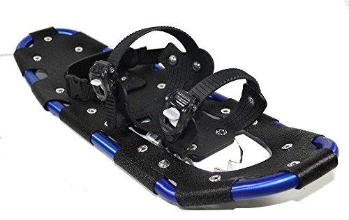 Schneeschuhe SNOW GLIDER ALU mit Tragetasche verschiedene Farben für Schuhgröße 38 bis 47
