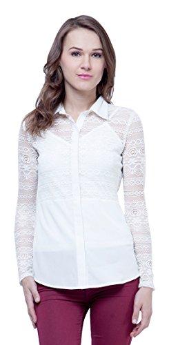 Faballey Women's Body Blouse Shirt