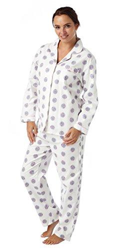 i-Smalls Ensemble de Pyjama Imprimé Chien ou Hibou Femme Hibou Crème