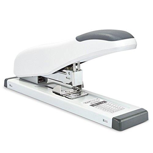 Rapesco 1386 ECO HD-100 Hochleistungs Heftgerät (bis zu 100 Blatt) Soft Weiß