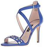 Nine West Mujeres Sandalias de Piso, Blue, Talla 8.5