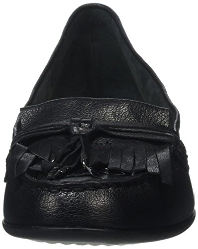 Hush Puppies Naveen Robyn, Mocassini Donna Nero (noir)