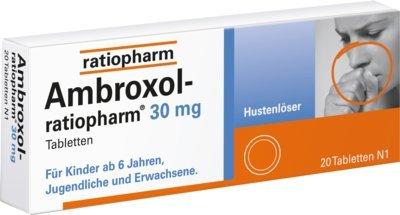 Ambroxol-ratiopharm 30 mg Hustenlöser Tabletten, 20 St. Tabletten