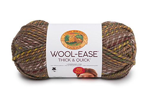 Camo Wool (Lion Brand Yarn 641-099 Wool-Ease Thick & Quick Bonus Bundle Garn Urban Camo)