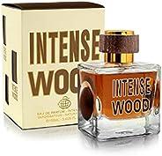 Intense Wood - Eau de Parfum - By Fragrance World - Perfume For Men, 100ml