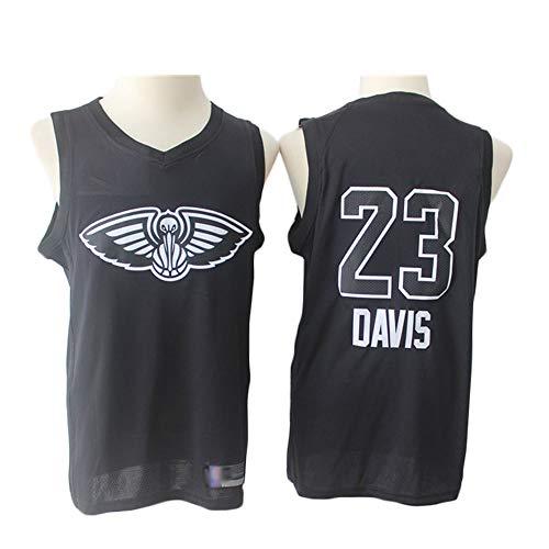 Z-ZFY Männer Frauen NBA Jersey -Baron Davis # 23 New Orleans Pelicans Kleidung Klassisches Ärmel Kinder Top T-Shirt,M170~175cm/65~75kg