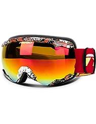 fab51ca1da8 NENKI NK-1006   NK-1007 Gafas de Esquí y Snowboard para Hombre o