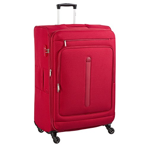 Delsey Manitoba luggage Trolley Esp 4R 68 black rouge