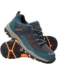 Mountain Warehouse Zapatillas Stampede para niños - Zapatillas de Correr con Suela de Gran Agarre, Zapatillas Impermeables, Zapatillas de Verano con Empeine