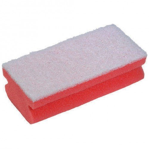 janitorial-express-hl005-r-soft-easigrip-sponge-scouring-pad-pink-white-pack-of-10