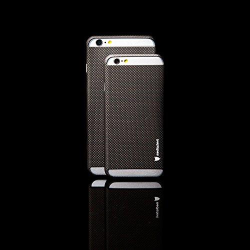 MediaDevil Apple iPhone 6/6S Carbon Fibre Case (Matt) - Carboncase Matt