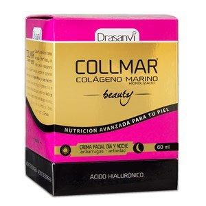 Collmar Beauty Crema Facial Antiarrugas y Reparador Celular, 60ml de Drasanvi - Colágeno Marino de Acción Día y Noche que Actúa contra los Signos de Envejecimiento Prematuro - Crema Reafirmante e Hidratante que Protege la Piel para Mujer y Hombre