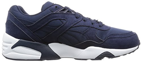 Puma R698, Baskets Basses Homme Bleu (Peacoat/White)