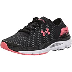 Under Armour UA W Speedform Intake 2, Zapatillas de Running para Mujer, Negro (Black), 35.5 EU