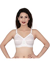 082fd66d41 Leiora- Womens Cotton D Cup Non Wired Non Padded T Shirt Bra - Size 32D
