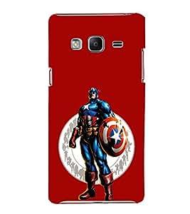 EPICCASE Captain America Mobile Back Case Cover For Samsung Tizen Z3 (Designer Case)