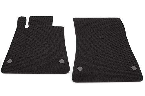 kh Teile Fußmatten SLK R170 Ripsmatten Automatten Original Qualität, 2-teilig, schwarz