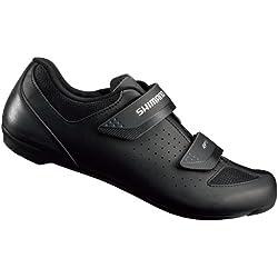 SHIMANO SHRP1PG430SL00 - Zapatillas Ciclismo, 43, Negro, Hombre