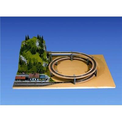 53101-noch-gleiswendel-aufbaukreis-ho-360-4375-mm-1-2-gleisig