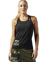 Reebok T-shirt sans manches pour les Mills Body Combat Mesh