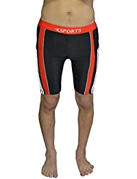 TAB Fashion Multi-Coloured Swimming Trunks For Men