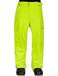 Westbeach Upperlevels - Pantalones de snowboard para hombre lima Poison Talla:xx-large