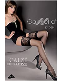 Gabriella Calze Exclusive 201 Hold Up-Noir-Taille XS/S/M/L
