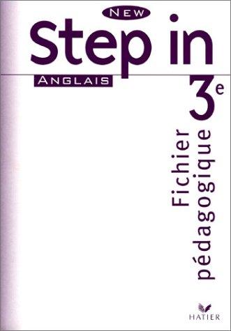 New Step In : Anglais, 3e LV1 (Manuel du professeur)