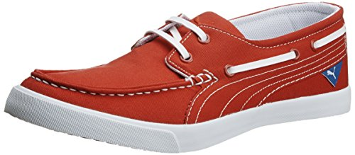 Puma Unisex Yacht Cvs High Risk Red Canvas Sneakers – 9 UK 4172Zb2GCRL