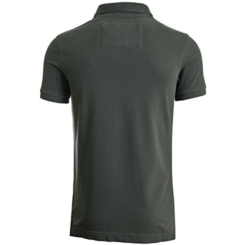 Superdry Herren T-Shirt Vintage Destroy S/S Pique Polo M11009tnf3-06a Vinatge Black
