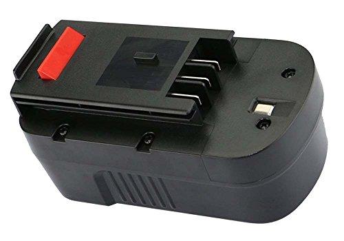 amsahr BD-18V(B) Ersatz Power Tools Batterie Für Black & Decker BD18PSK, CD182K-2, EPC18CABK, FS188F4, PS18K2, A18, HPB18 - (3.0Ah, 18V) Hpb18 Ope Power Tools