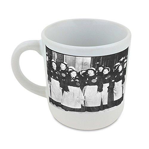 Mug with sufferage women