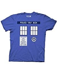 Doctor Who Tardis Costume Mens Azur T-Shirt | XXL