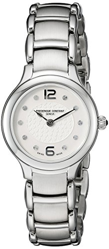 Frederique Constant FC-200WA1ER6B – Wristwatch women's, stainless steel silver strap
