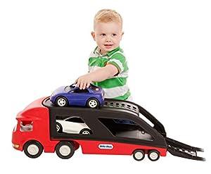 little tikes Big Car Carrier De plástico vehículo de Juguete - vehículos de Juguete (De plástico, Negro, Azul, Rojo, Color Blanco, 2 año(s), Niño, Interior / Exterior, CE)