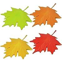 HevaKaplasticaacerofogliastileHomeDecorativeportaStopperfermaporta(4caricato)-verde, arancione, rosso &