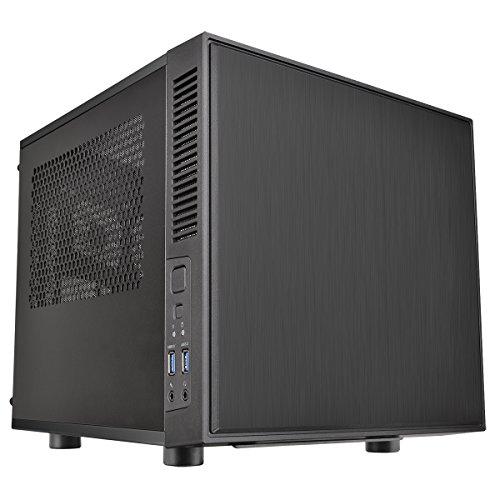 Thermaltake supresor F1 Mini ITX PC-vivienda con ventanas laterales colour negro