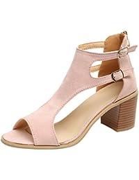 b624be3f8c Amazon.it: Multicolore - Scarpe col tacco / Scarpe da donna: Scarpe ...